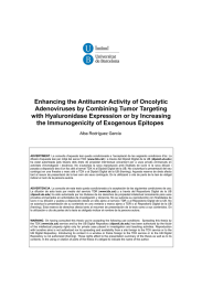 Enhancing the Antitumor Activity of Oncolytic Adenoviruses by Combining Tumor Targeting