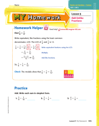 _ Homework Helper Practice Lesson 5