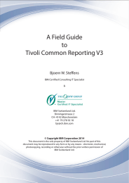 A Field Guide to Tivoli Common Reporting V3