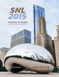 SNL  2015 Abstracts