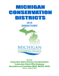 Conservation District Directors and Administrators Conservation District Office Employees