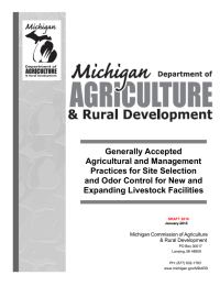 Generally Accepted Agricultural and Management Practices for Site Selection