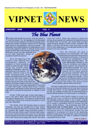 VIPNET NEWS The Blue Planet T