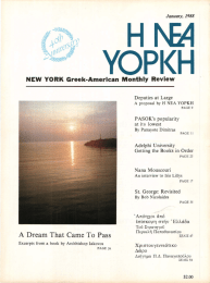 NEW YORK  Greek-Amerlcan  Monthly  Review