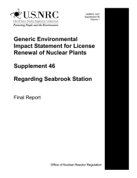 Generic Environmental Impact Statement for License Renewal of Nuclear Plants