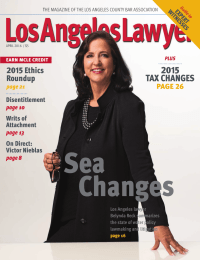 Sea Changes 2015 TAX CHANGES