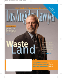 Land Waste 2008 Guide to Trial Support Services