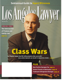 Class Wars Semiannual Guide to Expert Witnesses Semiannual Guide to Expert Witnesses