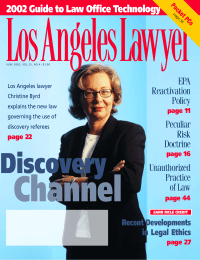 LosAngelesLawyer Channel Discovery 2002 Guide to Law Office Technology
