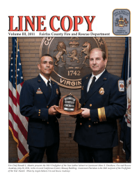 Volume III, 2011     Fairfax County Fire... Volume III, 2011 1