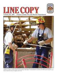 Volume III, 2005     Fairfax County Fire... Volume III, 2005 1