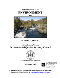 ENVIRONMENT Environmental Quality Advisory Council  Annual Report
