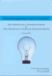 Innovatie? en/of Risicomanagement 58ste