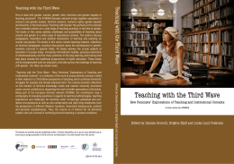 Teaching with the Third W Teaching with the Third Wave