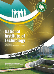 National Institute of Technology Hamirpur,
