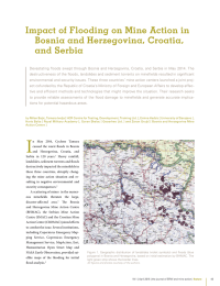 Impact of Flooding on Mine Action in Bosnia and Herzegovina, Croatia,