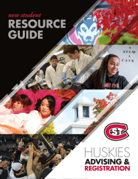 RESOURCE GUIDE new student CONTACT INFO
