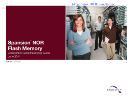 Spansion NOR Flash Memory