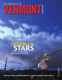 VERMONT STARS LISTENING to the
