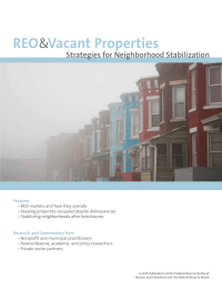 REO   Vacant Properties &  Strategies for Neighborhood Stabilization