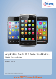 BDTIC www.BDTIC.com/infineon Application Guide RF & Protection Devices Mobile Communication