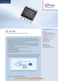 BDTIC TLE 5012B Product Brief