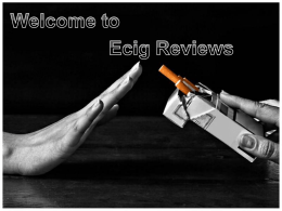 Find reviews of the most popular E-Cigarette Brands