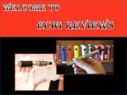 Get Best Ecigs for Beginners and Advanced Users